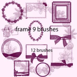 ribbon_frames_photoshop_brushes