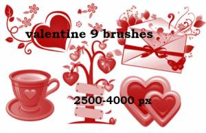 beautiful_ideafor_valentine_brushes