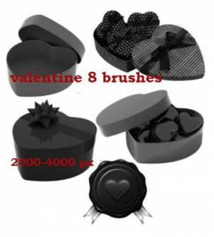 gifts for valentine brushes