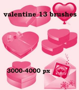 gifts for valentine high quality brushes