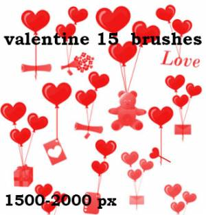 valentine_red_hearts_and_gifts_brushes