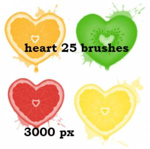 hearts_and_fruits_photoshop