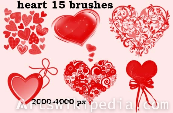 lover hearts photoshop