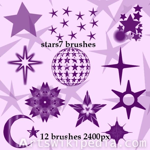 bright stars photoshop