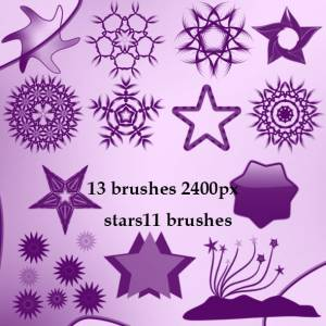 geometric_stars_brushes