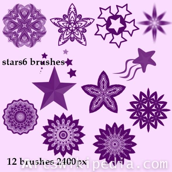 high resolution stars  photoshop