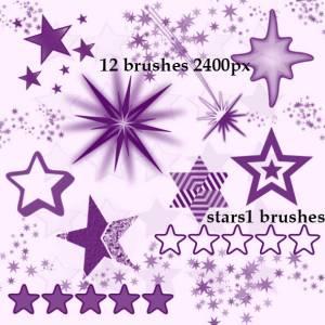 free stars brushes