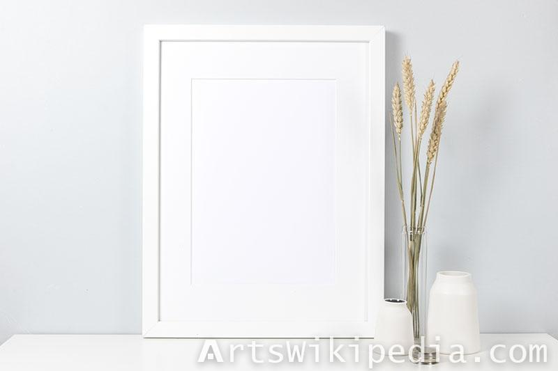 white frame next to Wheat