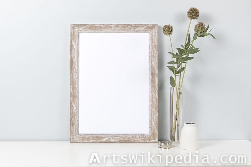 photo frame mockup.