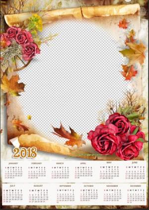 free-2018-calendar-psd-template