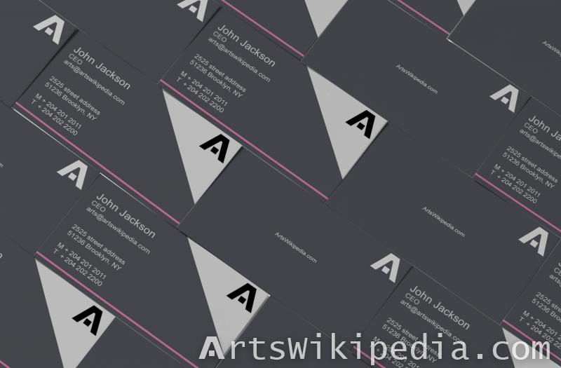 Business Card Staked Mockups