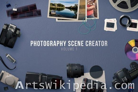 Photography Scene Collection Mockups