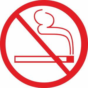 No Smoking Illustration