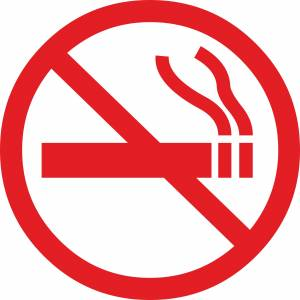 free no smoking sign