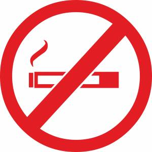 no-smoke-circular-sign