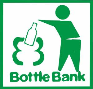 Bottle bank sign