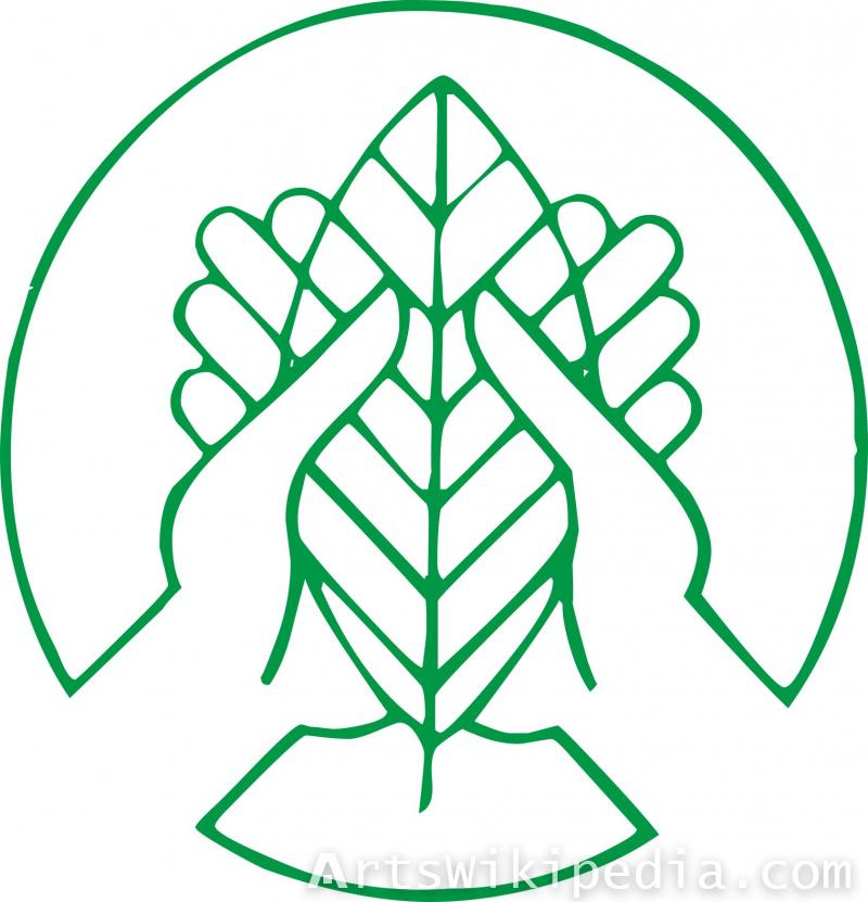 save environment leaf sign