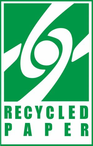 Recycled sign
