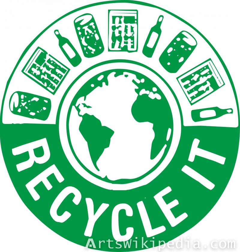 Recycle it sign