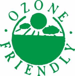Ozone Friendly illustration sign