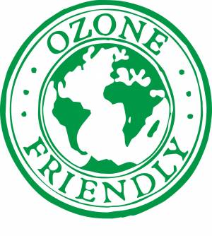 Free Ozone friendly sign
