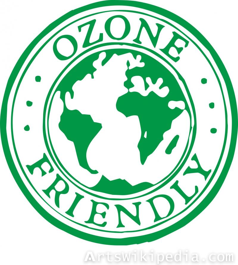 Free Ozone friendly sign