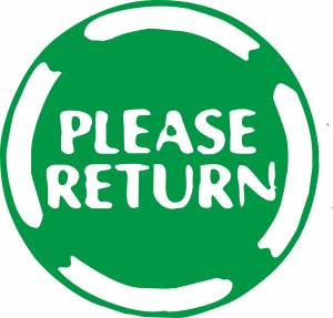 Please return SIgn