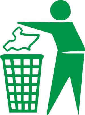 Free Keep clean sign