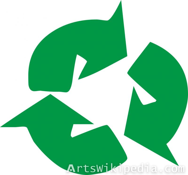 Green arrow recycle