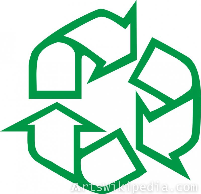 free recycling arrow image