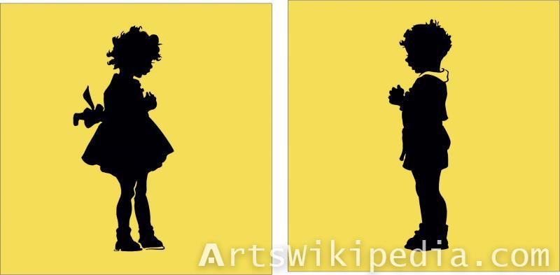 Free male & female illustration
