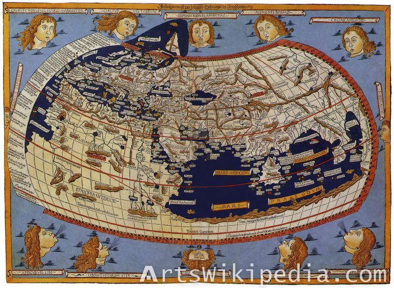 nicolaus germanus map
