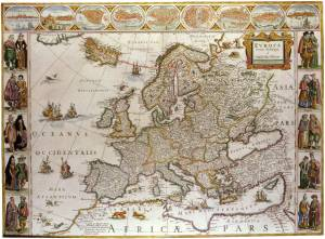 vintage-map-of-europa