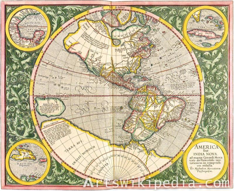 America india nova map