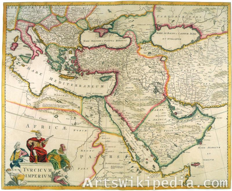 old middle east map