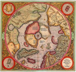 old-north-pole-map