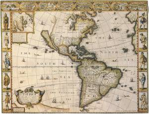 old-south-america-map