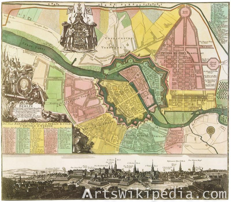 Old Berlin street map
