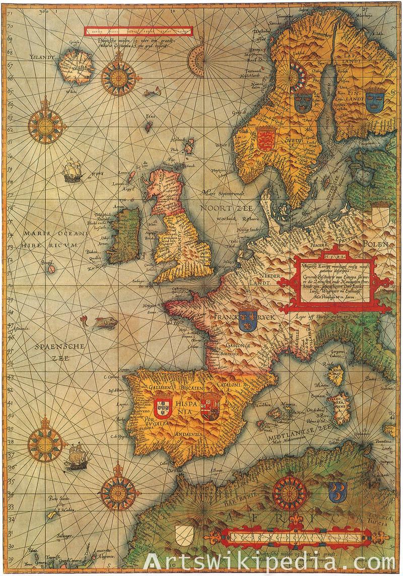 Maris Ocean map