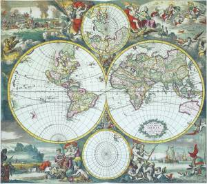four-circle-world-map