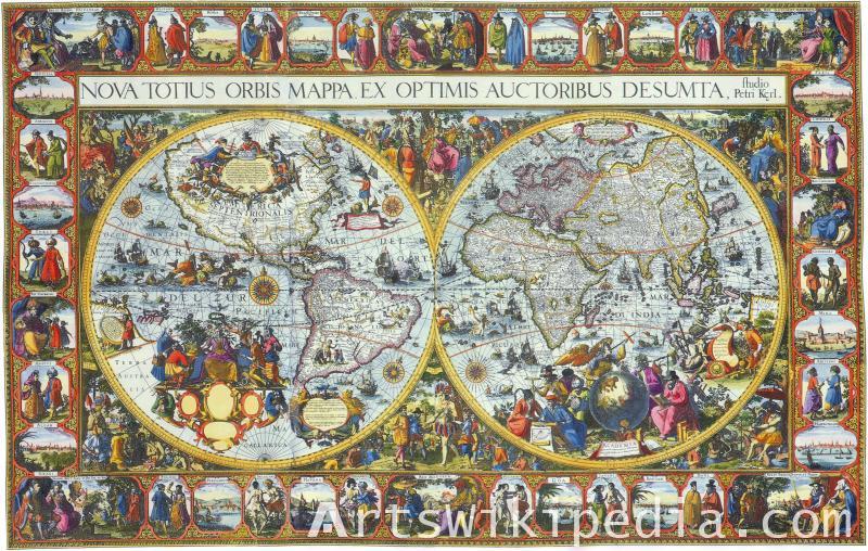 Pieter van den Keere map