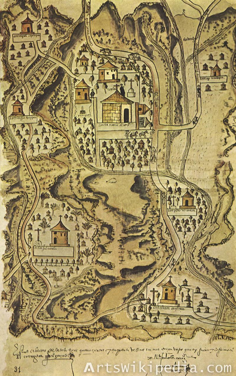 Vintage City map