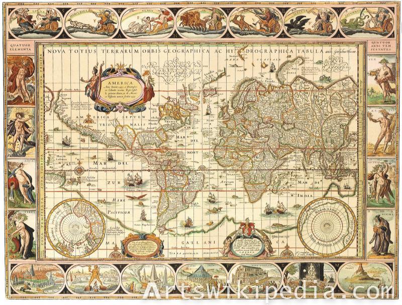 NOVA TOTIUS TERRARUM ORBIS Map