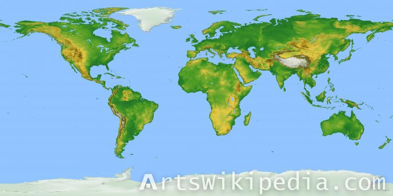 free world map image