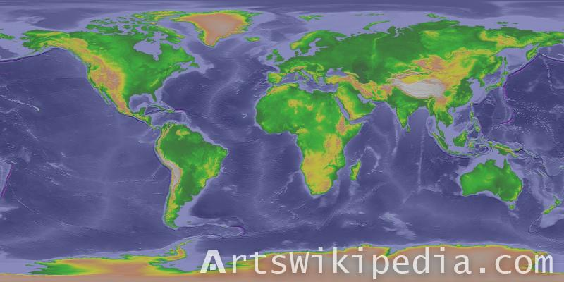 world map free image