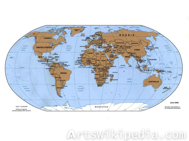 Download free earth map