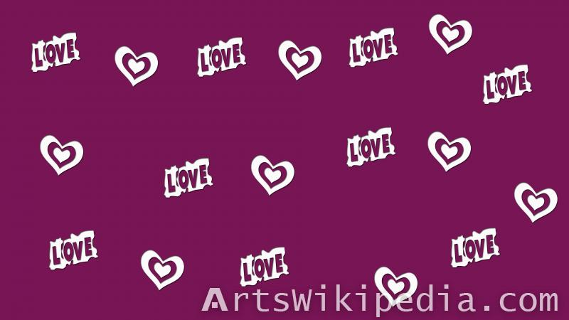 valentine ,heart , romantic , love,purple