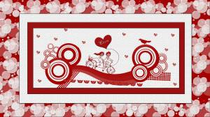 valentine ,heart , romantic couple, love