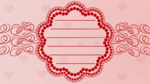 valentine ,heart , romantic,card,Bow,red