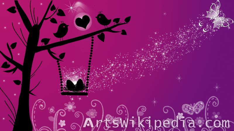 valentine love bird image